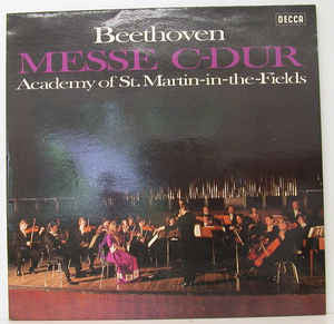 Beethoven -Messe C-DUR - Academy of St.Martin in the fields - Vinyl Opened - Very-Good+ (VG+) - CPlan Audio  - 1