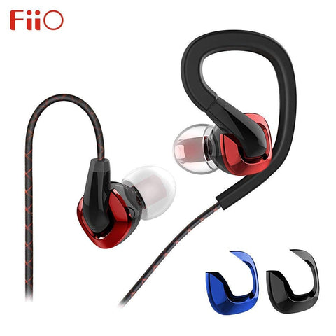 FiiO F3 Dynamic Graphene Driver In-Ear Monitor Earphones with Mic (Ships Next Day)