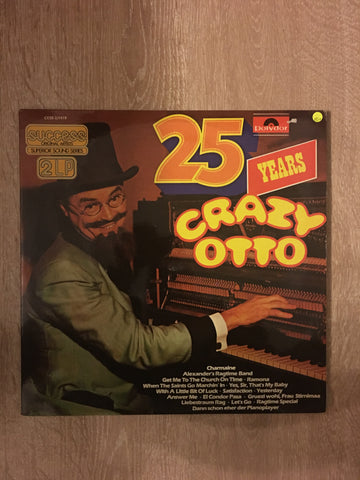 Crazy Otto - 25 Years - Double Vinyl LP Record - Opened  - Very-Good+ Quality (VG+)