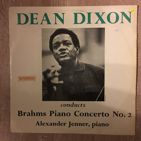 Dean Dixon Conducts Brahms Piano Concerto No. 2 - Vinyl Record - Opened  - Very-Good+ Quality (VG+)