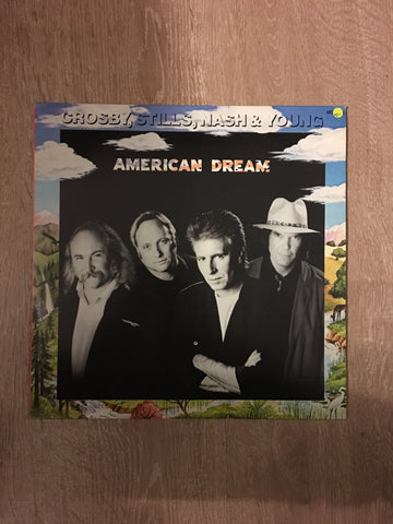 Crosby, Stills, Nash and Young - American Dream - Vinyl LP Record - Opened  - Very-Good+ Quality (VG+)