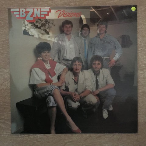 BZN - Visions ‎- Vinyl LP Record - Opened  - Very-Good+ Quality (VG+)