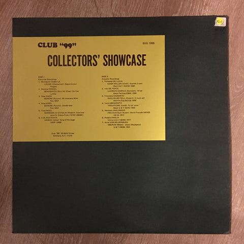 "Collectors Showcase - ""Club 99"" - Vinyl LP Record - Opened  - Very-Good+ Quality (VG+) - C-Plan Audio"