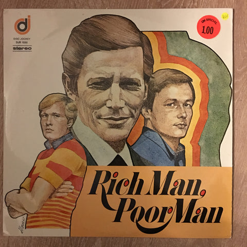 Rich Man Poor Man - Vinyl LP Record - Opened  - Very-Good+ Quality (VG+) - C-Plan Audio