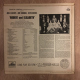 Martin Landau Presents John Clements (6), June Bronhill, Keith Michell ‎– Robert And Elizabeth - Vinyl LP Record - Opened  - Very-Good+ Quality (VG+) - C-Plan Audio