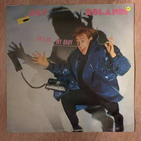 Jay Rolandi ‎– Call Me... My Baby - Vinyl LP Record - Opened  - Very-Good+ Quality (VG+)
