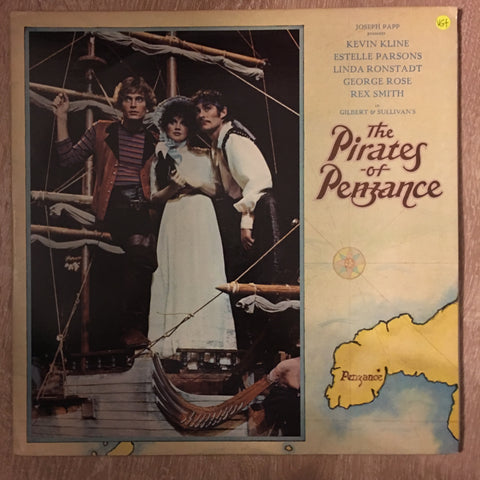 Gilbert & Sullivan's The Pirates Of Penzance - (Broadway Cast)  - Vinyl LP Record - Opened  - Very-Good+ Quality (VG+) - C-Plan Audio