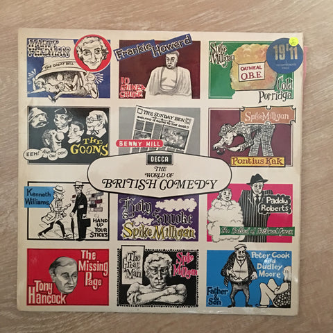 BBC - The World Of British Comedy - Vinyl LP Record - Opened  - Very-Good- Quality (VG-)