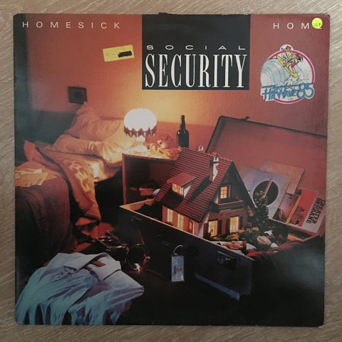 Social Security ‎– Homesick - Home ‎- Vinyl LP Record - Opened  - Very-Good+ Quality (VG+)