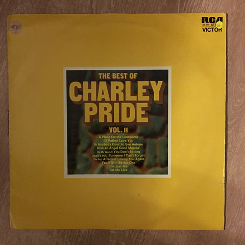 The Best Of Charley Pride - Vol II - Vinyl LP Record - Opened  - Very-Good- Quality (VG-) - C-Plan Audio
