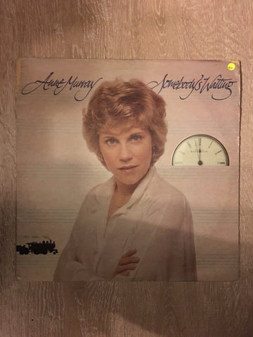 Anne Murray - Somebody's Waiting- Vinyl LP Record - Opened  - Very-Good+ Quality (VG+)