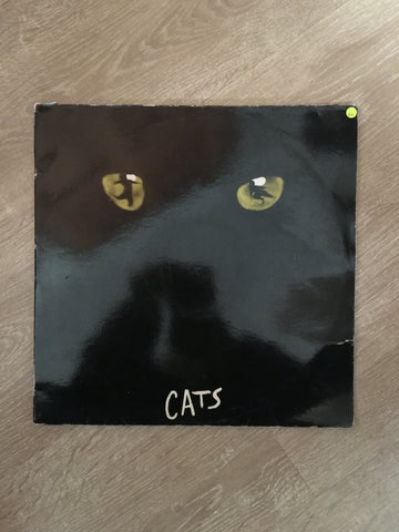 Cats - Andrew Lloyd Webber - Vinyl LP Record - Opened  - Good+ Quality (G+)