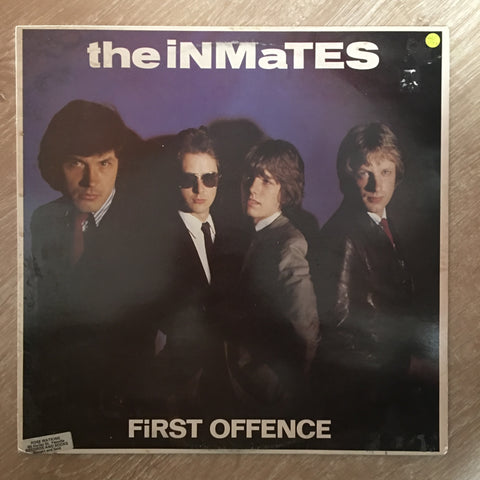 The Inmates ‎– First Offence ‎- Vinyl LP Record - Opened  - Very-Good+ Quality (VG+)