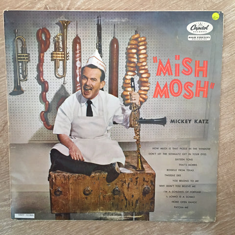 Micky Katz - Mish Mosh - Vinyl LP Record - Opened  - Very-Good+ Quality (VG+) - C-Plan Audio