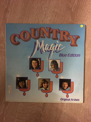 Country Magic - Blue Edition - Original Artists - Vinyl LP Record - Opened  - Very-Good- Quality (VG-)