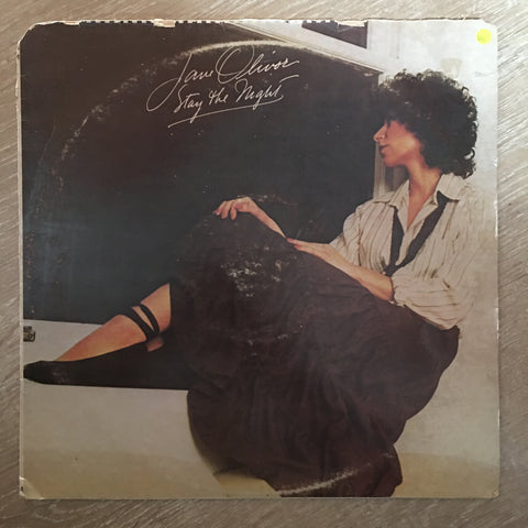 Jane Olivor - Stay The Night - Vinyl LP Record - Opened  - Very-Good Quality (VG)
