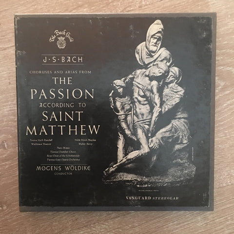 J.S Bach -  Choruses and Arias from The Passion According To Saint Matthew - 4 Track Original Reel To Reel Tape - VTC 1682