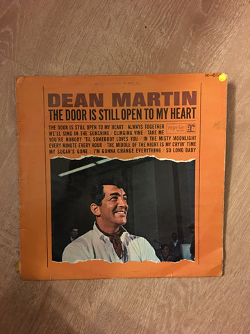 Dean Martin - The Door is Still Open to My Heart - Vinyl LP Record - Opened  - Very-Good Quality (VG)