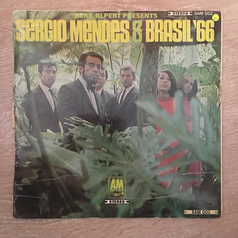 Herb Alpert Presents Sergio Mendes & Brasil '66 - Vinyl LP Record - Opened  - Very-Good+ Quality (VG+)