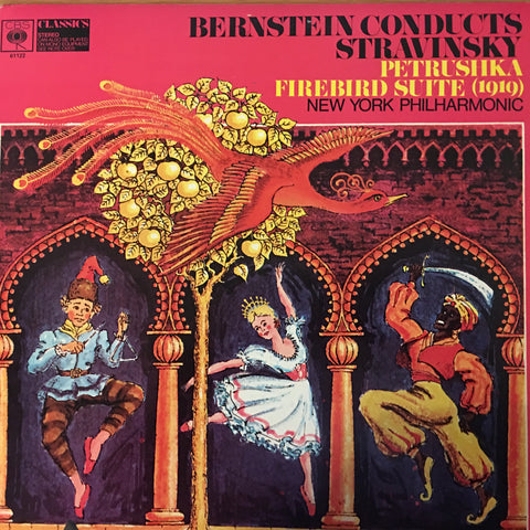 Bernstein Conducts Stravinsky, New York Philharmonic ‎– Petrushka  / Firebird Suite -  Open Vinyl LP - Near Mint   Condition - CPlan Audio