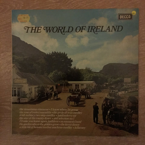World of Ireland - Vinyl LP Record - Opened  - Very-Good+ Quality (VG+)