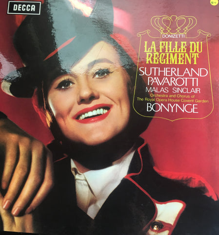 La Fille Du Régiment -Vinyl LP Opened Box Set - Near Mint Condition (NM)