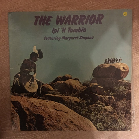 Margaret Singana - The Warrior - Ipi 'n Tombi - Vinyl LP Record - Opened  - Very-Good Quality (VG)