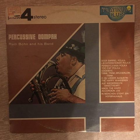 Rudi Bohn And His Band ‎– Percussive Oompah - Vinyl Record - Opened  - Very-Good+ Quality (VG+)