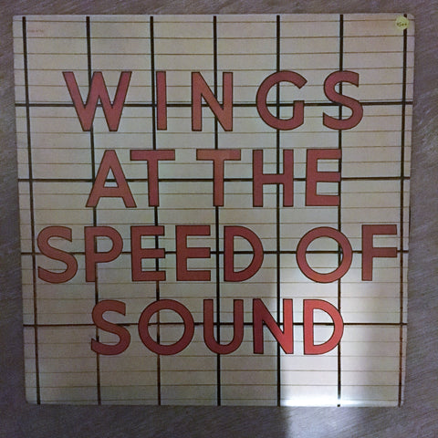 Wings - At the Speed of Sound - Vinyl LP Record - Opened  - Very-Good+ Quality (VG+)