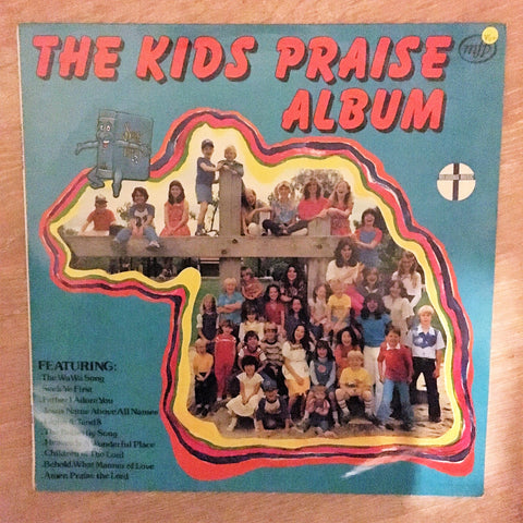 The Kids Praise Album - Vinyl LP Record - Opened  - Very-Good+ Quality (VG+)