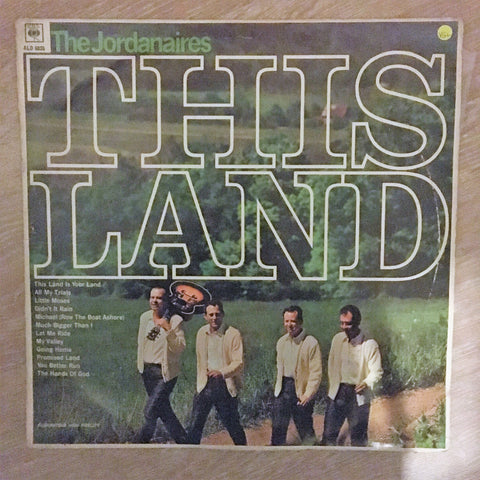 The Jordanaires ‎– This Land - Vinyl LP Record - Opened  - Very-Good+ Quality (VG+)
