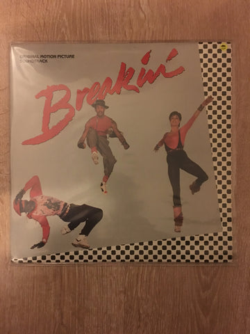 Breakin' - Original Motion Picture Soundtrack - Vinyl LP Record - Opened  - Very-Good+ Quality (VG+) - Vinyl