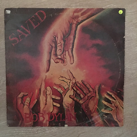 Bob Dylan - Saved - Vinyl LP Record - Opened  - Very-Good Quality (VG)