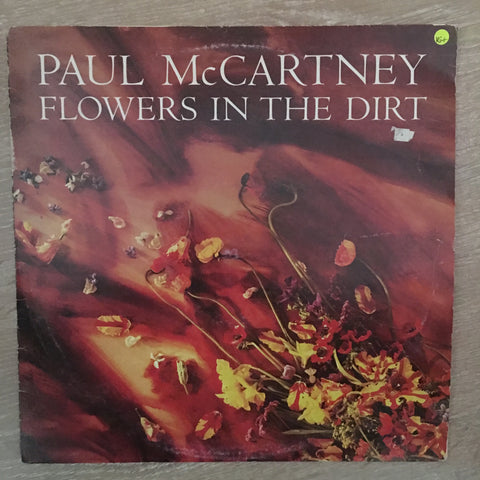 Paul McCartney - Flowers in the Dirt  - Vinyl LP - Opened  - Very-Good+ Quality (VG+)