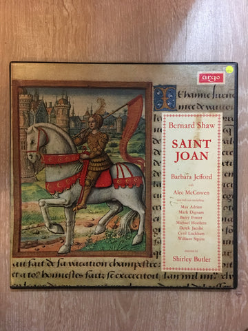 Bernard Shaw - Saint Joan - Vinyl LP Record - Opened  - Very-Good+ Quality (VG+) - Vinyl