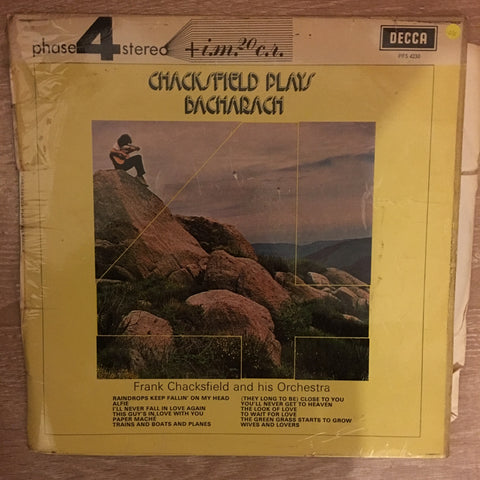 Frank Chacksfield And His Orchestra – Chacksfield Plays Bacharach - Vinyl LP Record - Opened  - Very-Good Quality (VG)