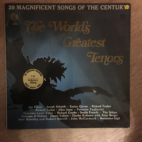 The World's Greatest Tenors - Vinyl LP Record - Opened  - Very-Good+ Quality (VG+)