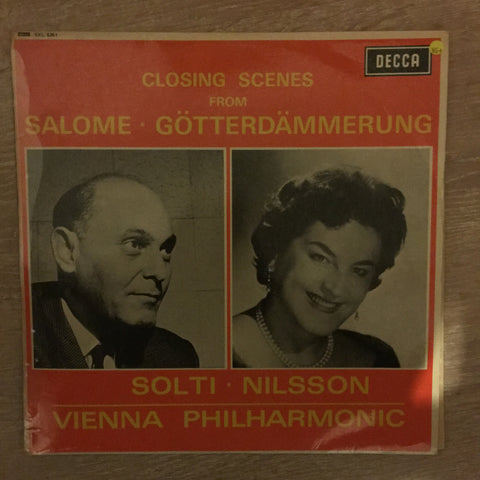 Solti ▪ Nilsson, Vienna Philharmonic ‎– Closing Scenes From Salome ▪ Götterdämmerung - Vinyl LP Record - Opened  - Very-Good+ Quality (VG+)