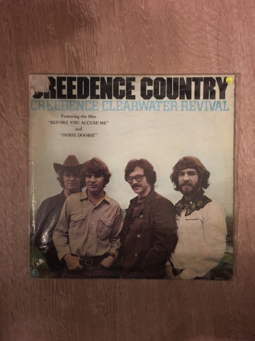 Creedence Clearwater Revival - Creedence Country - Vinyl LP Record - Opened  - Very-Good+ Quality (VG+)