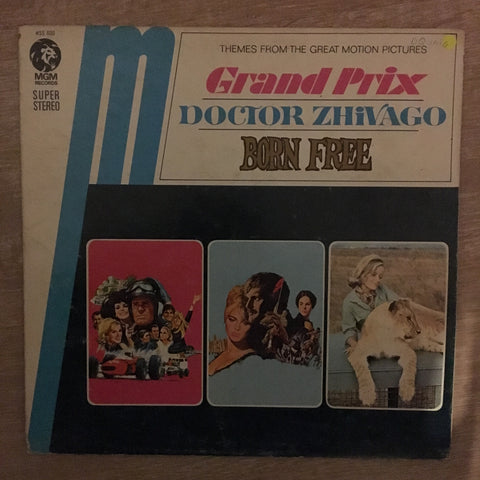 Themes From The Great Motion Pictures - Grand Prix, Doctor Zhivago, Bron Free - Vinyl LP Record - Opened  - Good Quality (G)