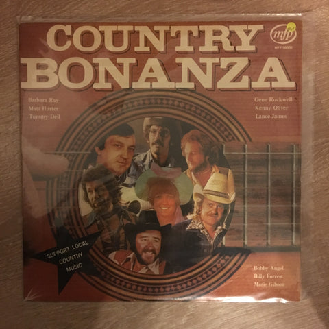 Country Bonanza -  Vinyl LP Record - Opened  - Very-Good+ Quality (VG+)
