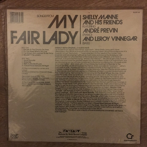 Shelly Manne and His Friends - Modern Jazz Performances of Songs from My  Fair Lady - Vinyl LP - Sealed