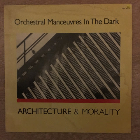 Orchestral Manoeuvres In The Dark ‎– Architecture & Morality ‎- Vinyl LP Record - Opened  - Very-Good+ Quality (VG+)