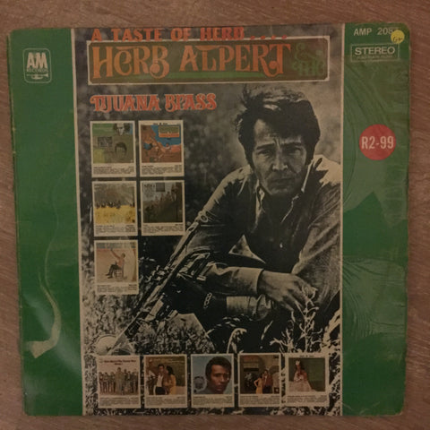 Herb Alpert - A Taste Of Herb Alpert and The Tijuana Brass ‎– Vinyl LP Record - Opened  - Good+ Quality (G+) - C-Plan Audio