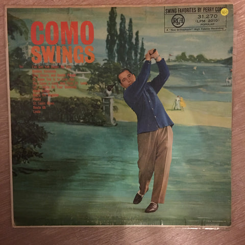Perry Como ‎– Como Swings -  Vinyl LP Record - Opened  - Very-Good+ Quality (VG+)