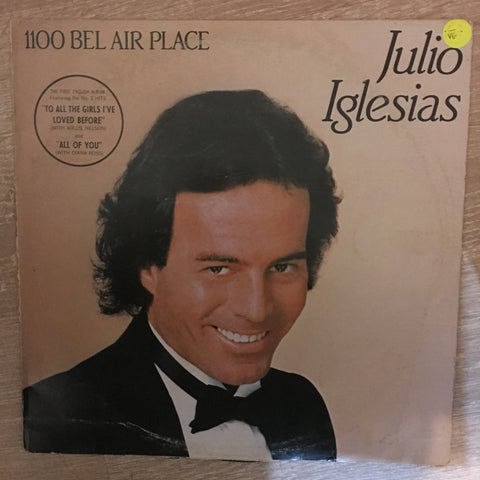 Julio Iglesias -1100 Bel Air Place - Vinyl LP Record - Opened  - Very-Good- Quality (VG-) - C-Plan Audio