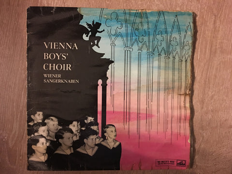 Vienna Boys' Choir  ‎– The Vienna Boys' Choir Sings - Vinyl LP - Opened  - Good+ Quality (G+)