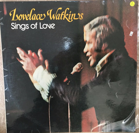 Lovelace Watkins - Sings of Love  - Vinyl LP - Opened  - Very-Good Quality (VG)