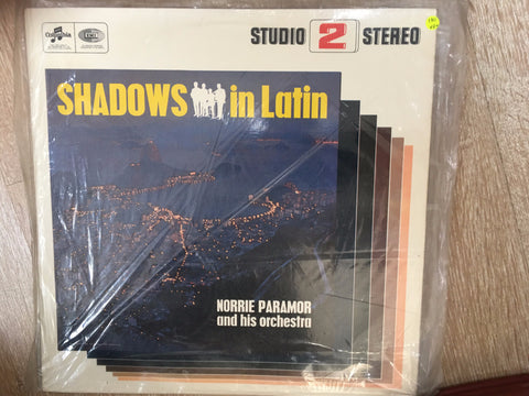 Norrie Paramor & His Orchestra ‎– Shadows In Latin  - Vinyl LP - Opened  - Very-Good+ Quality (VG+)