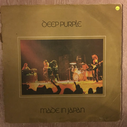 Deep Purple - Made In Japan - Double Vinyl LP Record - Opened  - Good+ Quality (G+)